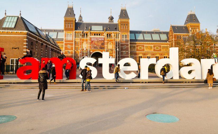 Het straatbeeld van Amsterdam